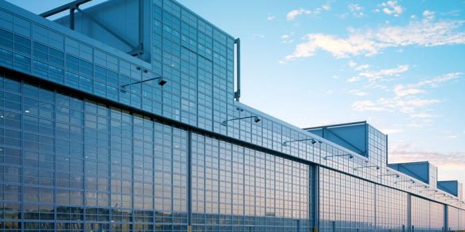 Rhepanol on the Airbus hangar in Hamburg