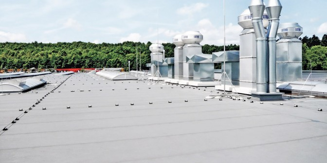 Flat roof ExtruPol - Suitable for all roof types