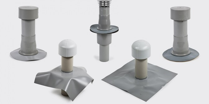Flat Roof Venting Accessories