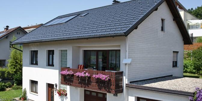 Leichtdach Twintile – leise wie ein Dachziegel