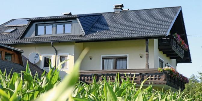 Leichtdach Twintile – klassische Dachform
